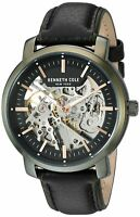 Kenneth Cole New York Men's Stainless Steel & Leather Automatic Watch KC50776006