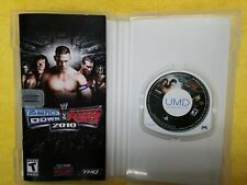 WWE SmackDown vs. Raw 2010 Featuring ECW (Sony PSP, 2009) with manual good