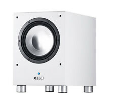 Canton 300 Watt RMS Compact High Impact Sound Subwoofer SUB 10.2 White - NEW