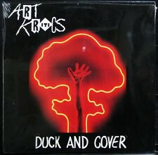 ART KRITICS 'Duck & Cover' SEALED 1987 Mass. Private issue indie punk LP