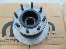 OEM Mopar Disc Brake Rotor-Hub Assembly Front Fits 94-99 Dodge Ram 3500 RWD