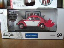 M2 1956 VW Beetle Deluxe European Model Chase Canada Hobby 1/64 Diecast
