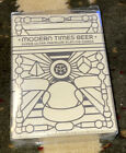 Modern Times Beer Playing Cards Special Edition B&W Tuck Case Dan & Dave