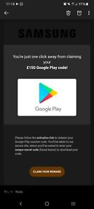 £150 Google Play Gift Card