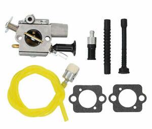QHALEN Carburetor Carb Kit for ZAMA C1Q-S252 STIHL MS261 MS271 MS291 Chainsaw
