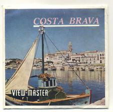 The Costa Brava Spain Belgium-made ViewMaster Packet C-240-S Spanish