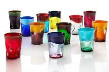 Bicchiere Acqua Dandy Nason Moretti - Murano -Vari Colori - h cm 11 -Rivenditore