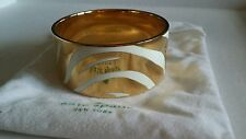 "KATE SPADE ♤ NEW YORK ""KICK UP YOUR HEELS"" IDIOM BANGLE BRACELET NWOT"
