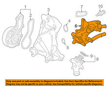 HONDA OEM-Engine Coolant Thermostat Housing 193215A2A01