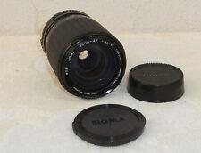 objectif Sigma zoom 1:3,5-4,5/35-135 mm monture nikon EM