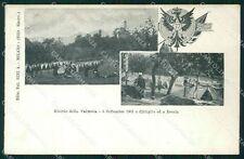 Varese Brenta Cittiglio 77º Reggimento Fanteria Militari cartolina QT7683