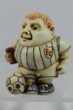 Harmony Kingdom Ball Pot Bellys / Belly 'Ball Basher' Soccer #Pbpef Ret. Nib!