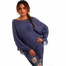 Damen-Pullover aus Acryl ohne Muster