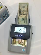 Automatic Portable Counterfeit Money Detector Counter Rechargeable EUR USD HKD