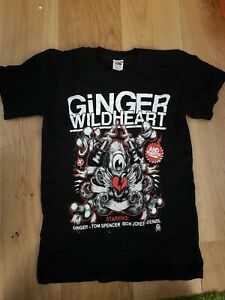 Rare Ginger Wildheart tour tee. Size small. The wildhearts