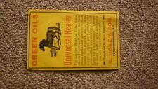 AUSTRALIAN CHEMIST BOTTLE LABEL 1930, HOILE PETERBOROUGH, HORSE HEALER OIL
