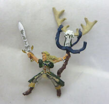 Warhammer Wood Elves Elf mounted spellsinger mage oop metal army lot