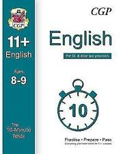 10-Minute Tests for 11+ English Ages 8-9 - For GL & Other Test Providers by...
