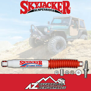 Skyjacker® Hydro 7000 Steering Stabilizer fits 87-06 Jeep Wrangler YJ TJ LJ 7009