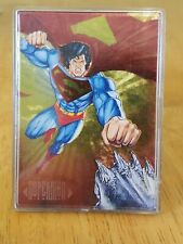1994 Master Series DC Double Spectra- DS3 Superman/ Doomsday Card