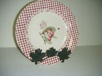 "Pfaltzgraff DELICIOUS Apples Stoneware 9"" Salad Plates ( Set of 4)"