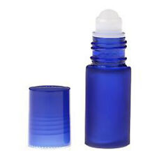 48 Glass Rollerball Bottle 30mL XTRA LARGE Roll On 1 Oz BLUE Empty