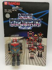 Vintage Mini Godaikin Combattra Die Cast Robot Toy MOC Bandai 1984 Chogokin