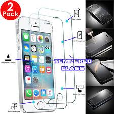 2x 100% De Vidrio Templado Invisible Shield protectores de pantalla para iPhone SE 5s 5c 5