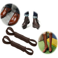 Round Waxed Dress Shoe Laces - Colored Oxford ShoeLaces - Choose from Mix colors