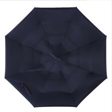 C-Handle Double Layer Umbrella Folding Inverted Upside Down Reverse Windproof