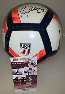 Jozy Altidore signed Nike Team USA 2017 Gold Cup Soccer Ball autographed JSA