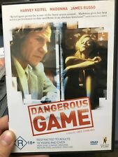 Dangerous Game region 4 DVD (1993 Harvey Keitel / Madonna drama movie) RARE