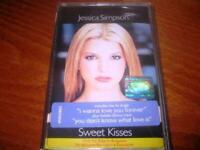 Jessica Simpson Sweet Kisses MADE IN BULGARIA CASSETTE Bulgarian Edition Rare
