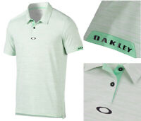 Oakley Gravity Golf Polo Shirt - RRP£55 - ALL SIZES - Viper - Lime Green