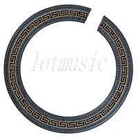 Soundhole Rosette Inlay  Wood Inaly Parts Fits For Acoustic Guitar