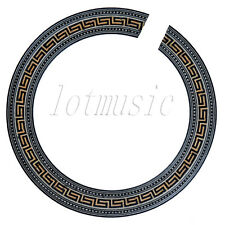 1 Pcs Acoustic Guitar Soundhole Rosette Body Project Wood Inlay