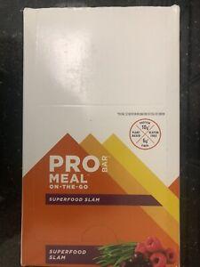 PROBAR Meal Bar, Superfood Slam, 12 bars (1 box) - Expires April 2022 or later