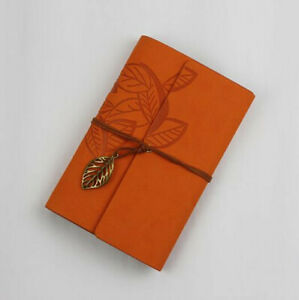 Vintage Retro Leather Diary Blank Notebook Travel Writing Journal Notepad Gift