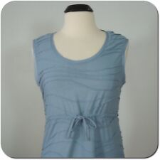 SIMPLY VERA VERA WANG Women's Blue Textured Dress, size M