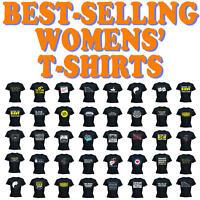 Cats Funny Novelty Tops T-Shirt Womens tee TShirt - SUPER WOMENS - L1
