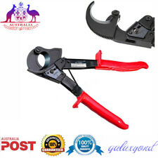 Ratchet Cable Cutter Wire Cutting Hand Tool Cut up to 240mm² Red