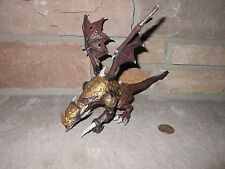 Mega Bloks Dragons Metal Ages Rutilus 9840 Gold Armor No egg
