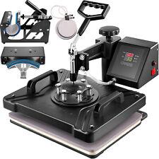"""5 en 1 prensa de calor Máquina Heat Press Machine 15""""x12"""" (38x30cm) Special"""