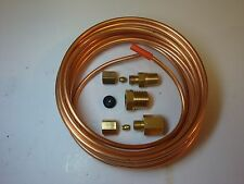 "Oil Pressure / Mechanical Gauge Copper Tubing Line Kit 1/8"" OD x 12' Foot ABC523"