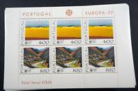 "1977 Portugal, Block Europa: ""Landschaften"" per 100, **/MNH, Bl.20, ME 4000,-"