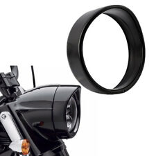 "5.75"" Black Headlight Bezel Decorate Trim Ring Cover for Harley Trike 2008-2013"