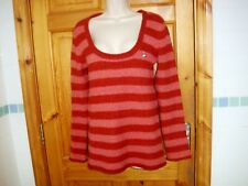 Ladies MNG MANGO jumper fit size 14 hip length good con