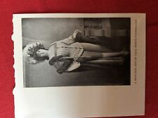 m2v ephemera 1950s reprint picture birdie sutherland principal boy 1903