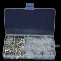 270pcs Wire Terminals Assorted insulated Spade Set Connectors Crimp Electrical
