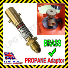 LPG GAS ADAPTOR Refill your Propane Flo gas Motorhome - Caravan Gas Bottles HIGH